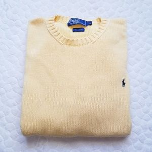 Polo Ralph Lauren sweater knit jumper lemon cotton
